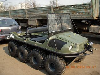 Б/у вездеход Argo 8х8 Avenger 750 EFI